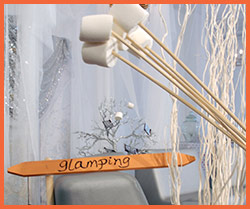 bigg glamping sign